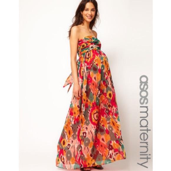 79b7fb2f7090 ASOS Maternity Dresses & Skirts - Asos Maternity Bandeau Maxi Dress